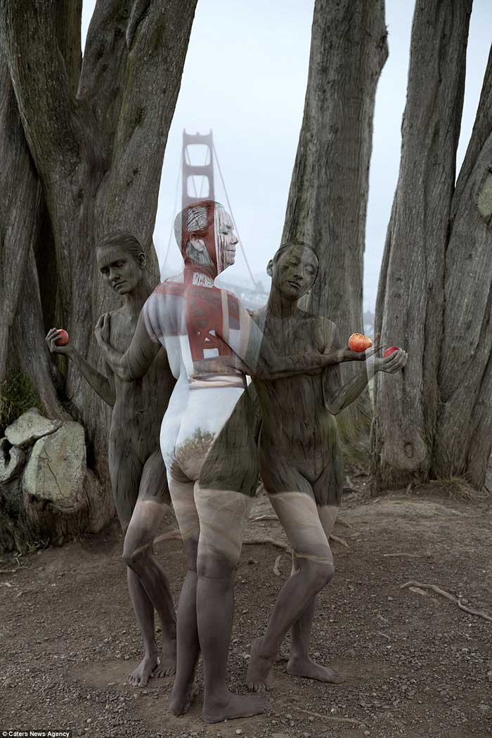 nude-body-painting-background-3-woment-trees